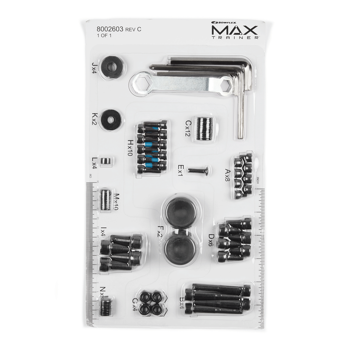 Replacement Hardware Card for Max Trainer