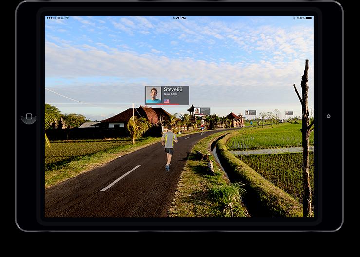 Nautilus - ipad RunSocial™ App