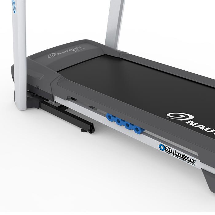 Worn Treadmill Deck: Nautilus T614 Treadmill