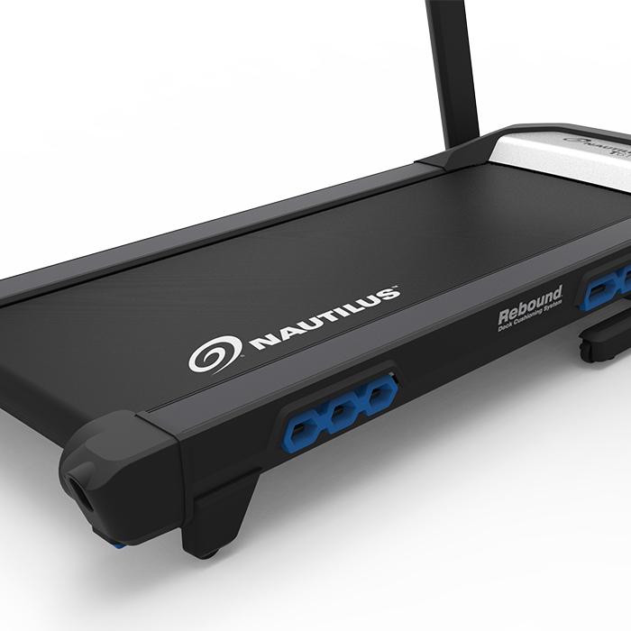 Worn Treadmill Deck: Nautilus T618 Treadmill